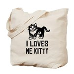 I LoVES Me KITTY - Cat Tote Bag
