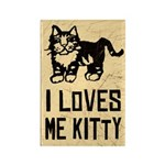 I LoVES Me KITTY - Magnets (10 pack)