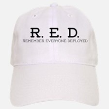 RED Logo Baseball Baseball Baseball Cap
