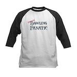 Bowling Fanatic Kids Baseball Jersey