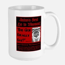 Satans First Lie Mug