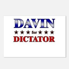 DAVIN for dictator Postcards (Package of 8)