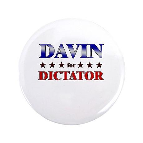"DAVIN for dictator 3.5"" Button"