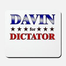 DAVIN for dictator Mousepad