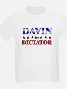 DAVIN for dictator T-Shirt