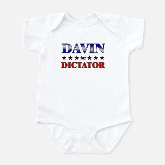 DAVIN for dictator Infant Bodysuit