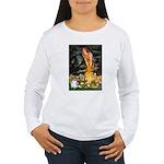 Fairies / Papillon (f) Women's Long Sleeve T-Shirt