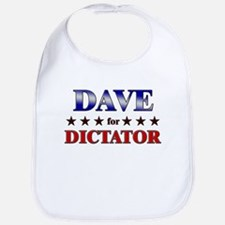 DAVE for dictator Bib
