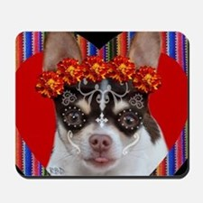 Day of the Dead Chihuahua Mousepad