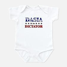 DASIA for dictator Infant Bodysuit