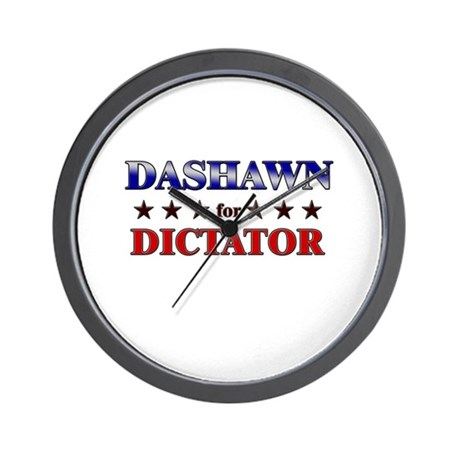 DASHAWN for dictator Wall Clock