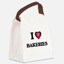 I Love Bakeries Canvas Lunch Bag
