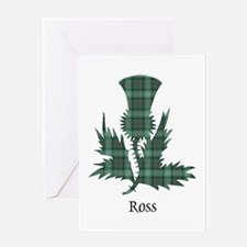 Thistle-Ross hunting Greeting Card
