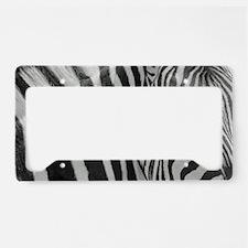 Cute Monochrome License Plate Holder