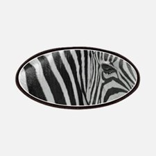 Zebra in Black and White Patch