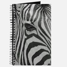Zebra in Black and White Journal