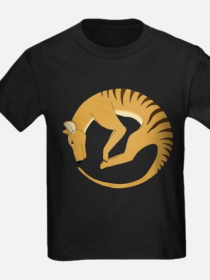 Thylacine alive logo colored T-Shirt