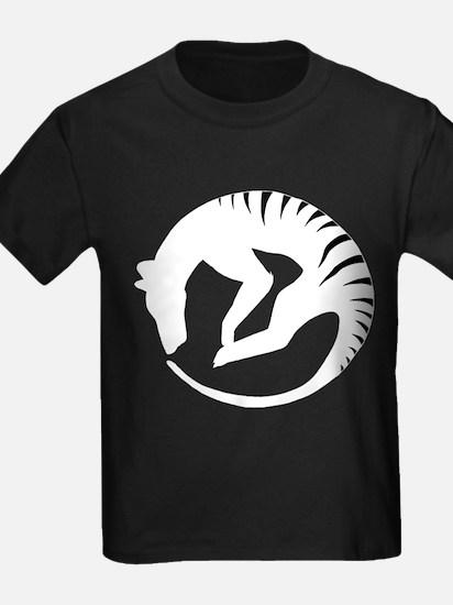 Thylacine alive white logo T-Shirt