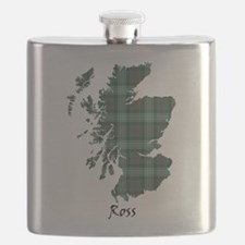 Map-Ross hunting Flask
