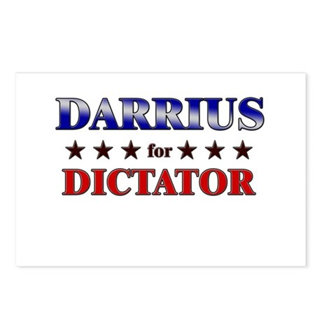 DARRIUS for dictator Postcards (Package of 8)