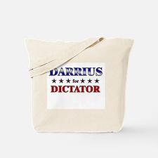 DARRIUS for dictator Tote Bag