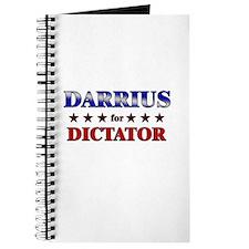 DARRIUS for dictator Journal