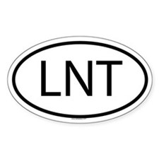 LNT Oval Decal