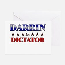 DARRIN for dictator Greeting Card