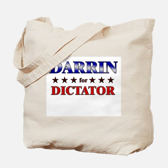 DARRIN for dictator Tote Bag