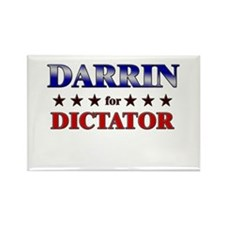 DARRIN for dictator Rectangle Magnet