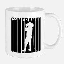 Retro Cameraman Mugs
