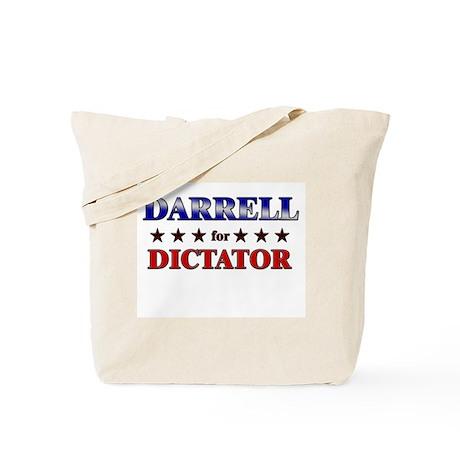 DARRELL for dictator Tote Bag