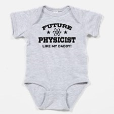 Unique Future physicist Baby Bodysuit