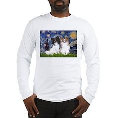 Starry / 2 Papillons Long Sleeve T-Shirt