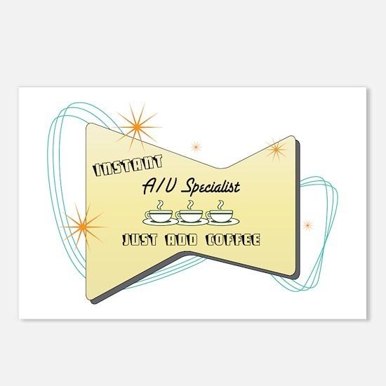 Instant AV Specialist Postcards (Package of 8)