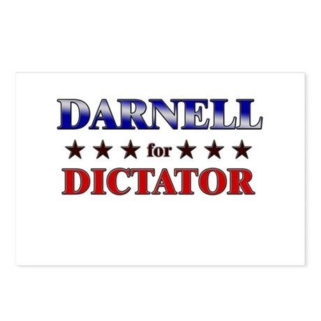 DARNELL for dictator Postcards (Package of 8)