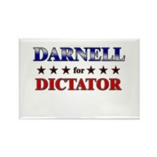 DARNELL for dictator Rectangle Magnet