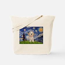 Starry / Havanese Tote Bag