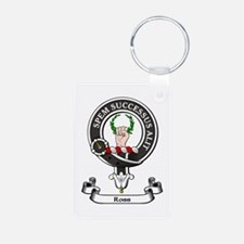Badge - Ross Aluminum Photo Keychain