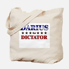 DARIUS for dictator Tote Bag