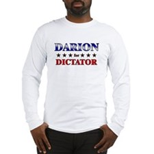 DARION for dictator Long Sleeve T-Shirt