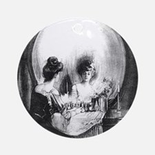 All Is Vanity Ornament (Round)