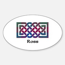 Knot - Ross Sticker (Oval)