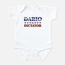 DARIO for dictator Infant Bodysuit