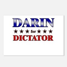 DARIN for dictator Postcards (Package of 8)