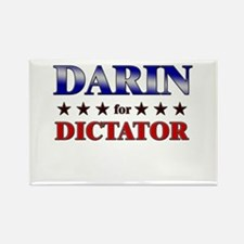 DARIN for dictator Rectangle Magnet