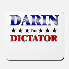 DARIN for dictator Mousepad