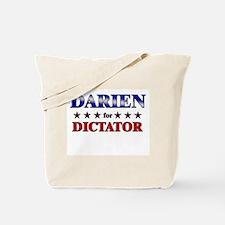 DARIEN for dictator Tote Bag