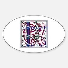 Monogram - Ross Sticker (Oval)