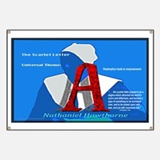 The Scarlet Letter: Universal Theme Banner